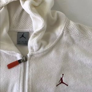 Nike Air Jordan Full Zip Sleeveless Hoodie / 2XL